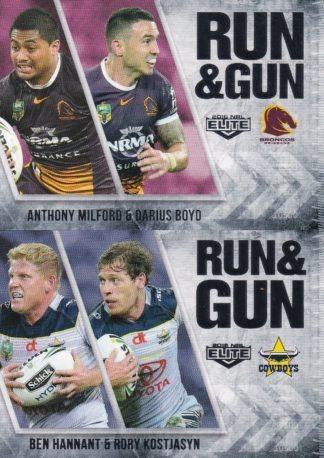 2016 NRL Elite Run & Gun
