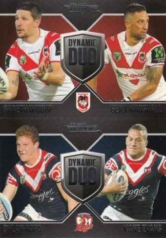 2016 NRL Traders Dynamic Duo