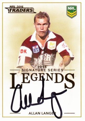 2016 NRL Traders Legends Signature Cards