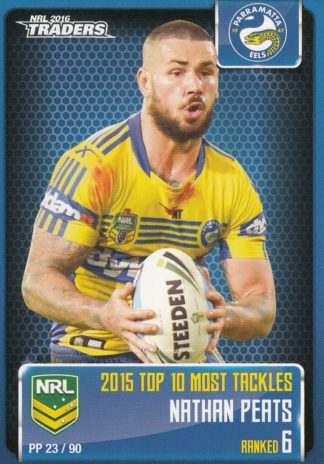 2016 NRL Traders Pieces Of The Puzzle