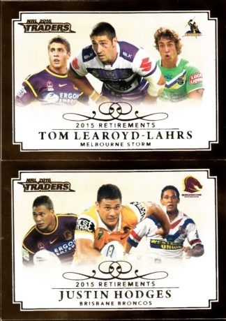 2016 NRL Traders Retirements