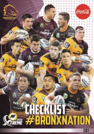 2016 NRL Promotional Cards