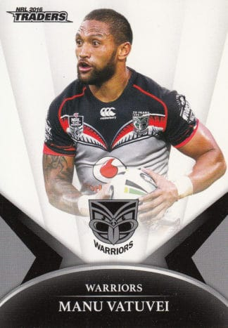 2016 NRL Traders Base Common Cards