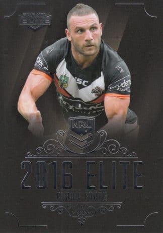 2016 NRL Elite Base Common Cards
