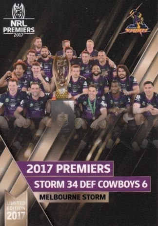 2017 NRL Premiers Collection Set