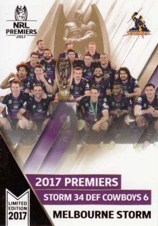 2017 NRL Premiers Signature Collection Set