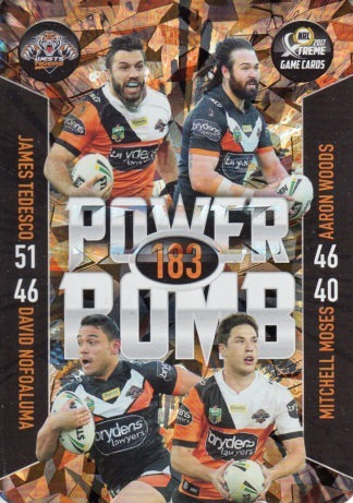 2017 NRL Xtreme Game Power Bomb Team