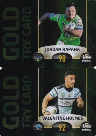 2017 NRL Xtreme Game Power Cards