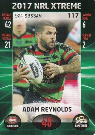2017 NRL Xtreme Game Common Cards
