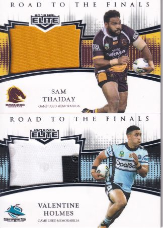 2018 NRL Elite Road To Finals Jersey Patch