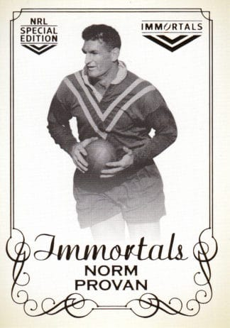 2018 NRL Glory Immortals Photo Cards