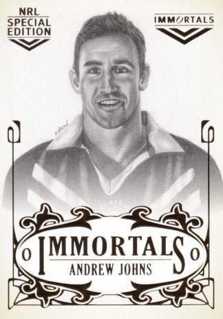 2018 NRL Glory Immortals Sketch Cards