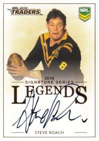 2018 NRL Traders Legends Signature Cards