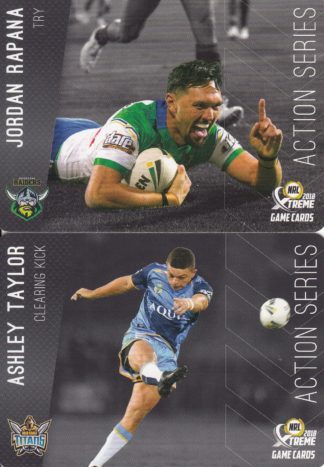 2018 NRL Xtreme Game Action