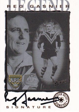 2000 Select NRL Legend Signature Card