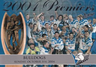 2004 NRL Authentic Redeemed Premiers Set