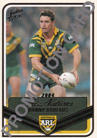 2005 NRL Tradition Promotional Cards