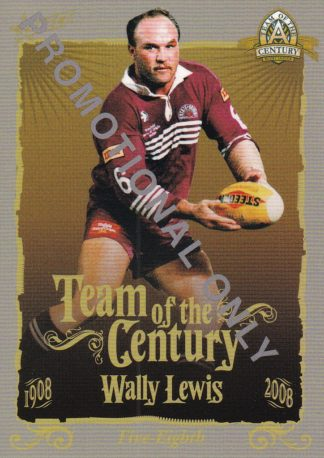 2008 NRL Centenary Promotional Cards