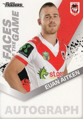 2019 NRL Traders Faces Of The Game