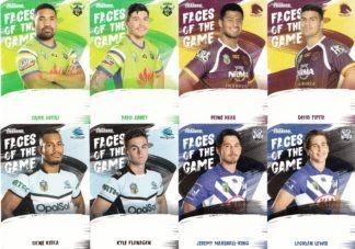 2019 Nrl Traders Faces of the Game FG22 Manase FAINU Sea Eagles