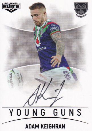 2019 NRL Elite Young Guns Signatures