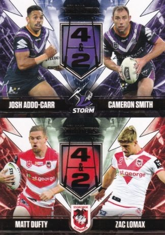2020 NRL Traders Four & Two