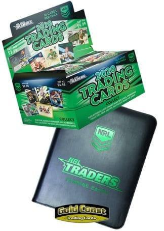2020 NRL Traders Box / Case / Album / Starter Pack