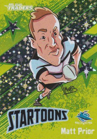 2020 NRL Traders Startoons Green