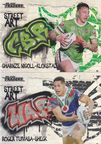 2020 NRL Traders Street Art