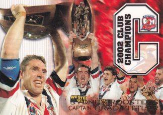 2003 NRL XL Case Card