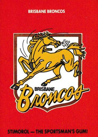 1980 - 1989 Broncos