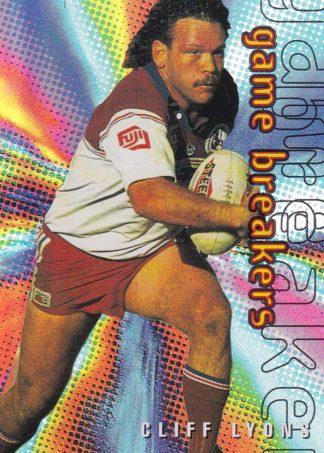 1996 Dynamic Series 1 Game Breakers