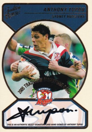 2005 NRL Tradition Signature Redemptions