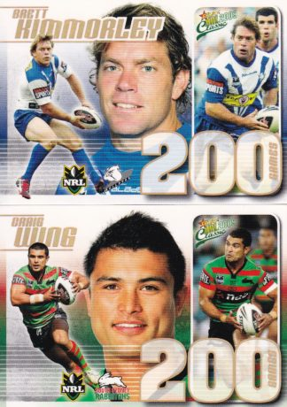 2009 NRL Classic Case Cards