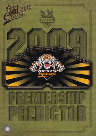 2009 NRL Classic Premiership Predictors