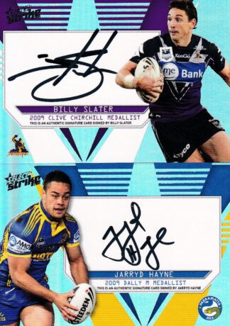 2011 NRL Strike Medallist Signature Redemptions