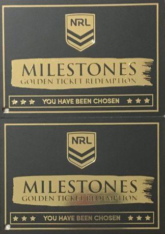 2020 NRL Elite Golden Ticket