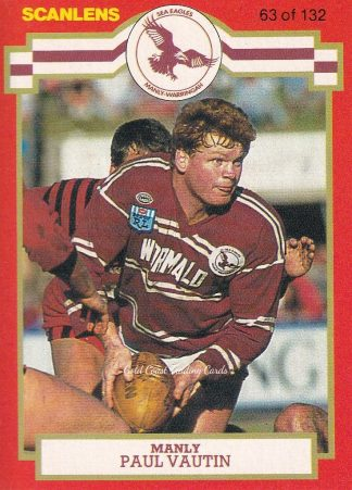 1986 Scanlens NSW Rugby League