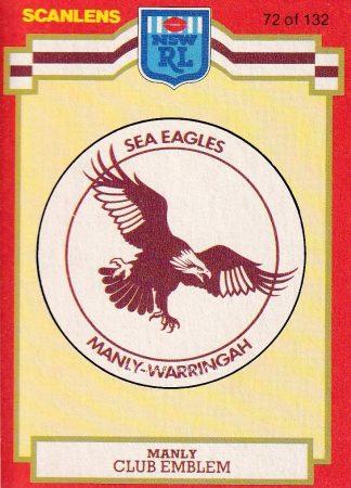 1980 - 1989 Sea Eagles