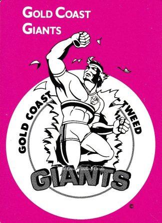 1980 - 1989 Giants