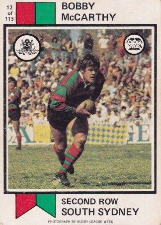 1974 Scanlens NSW Rugby League
