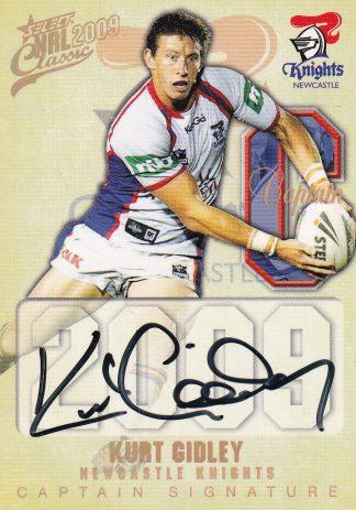 2009 NRL Classic Captains Signatures