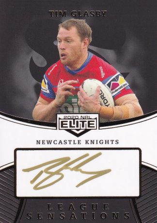 2020 NRL Elite League Sensations Signatures Black