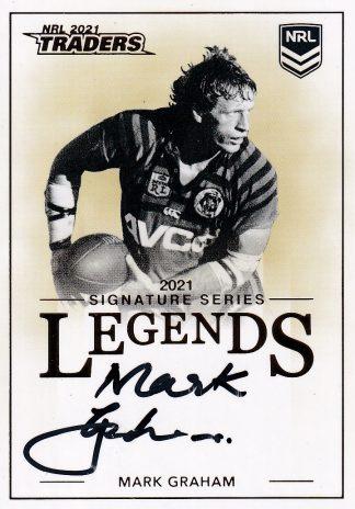 2021 NRL Traders Legends Signatures