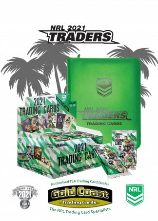 2021 NRL Traders Case / Box / Album