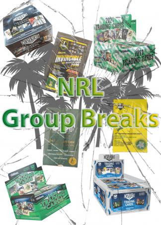 NRL Trading Card Group Breaks