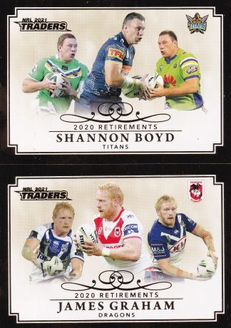 2021 NRL Traders Retirements