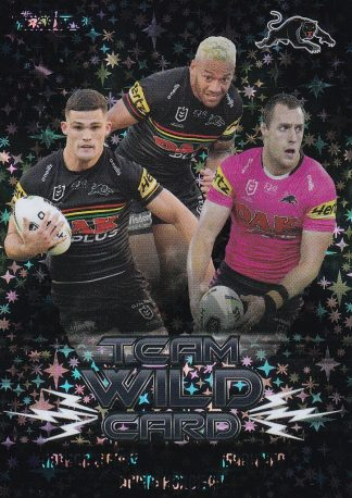 2021 NRL Traders Team Wildcard Parallels