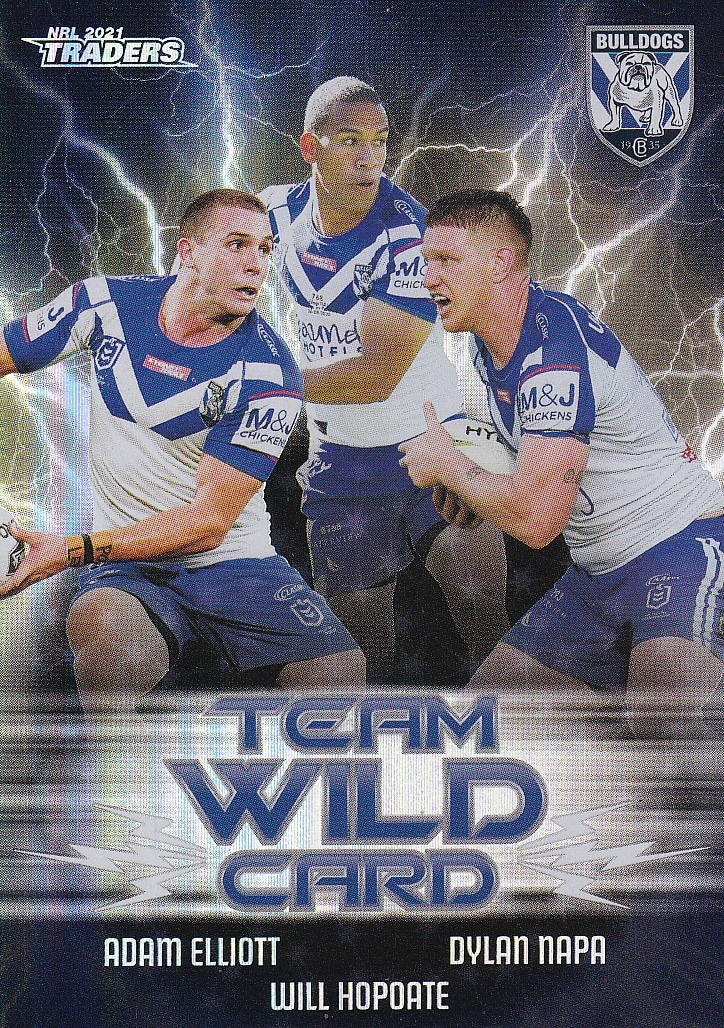2021 NRL Traders Wildcard Group - Gold Coast Trading Cards