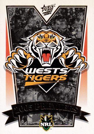 2005 NRL Premiers Set